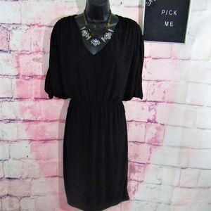 Lauren Ralph Lauren Black Dress Dolman Size 4
